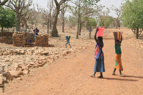 Staande foto Afrika approvisionnement perpétuel