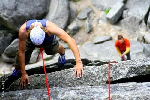 Fotografie, Obraz  Climbing