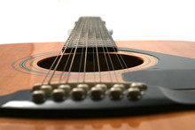 12 String Guitar Looking From ...
