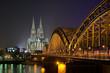 Leinwandbild Motiv Kölner Dom