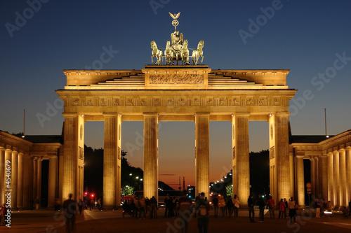 Spoed Foto op Canvas Berlijn Brandenburg gate