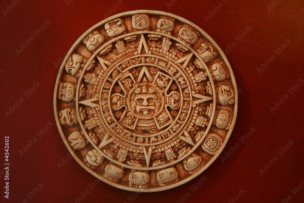 Fényképezés  aztec calendar