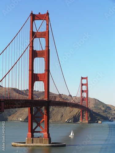 Foto-Kassettenrollo premium - Golden Gate Bridge, San Francisco (von PRinMD68)
