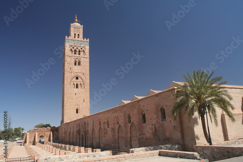 Fotografie, Obraz  Koutoubia mosque in Marrakesh