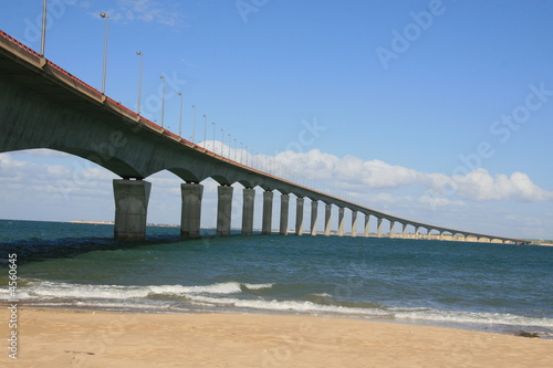 Poster Bridges Pont de l'ile de ré