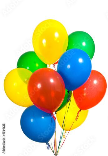 Staande foto Ballon Assorted Balloons
