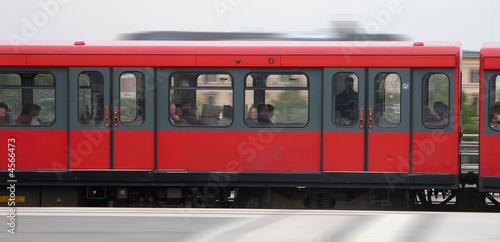 Foto op Aluminium Londen rode bus S-Bahn