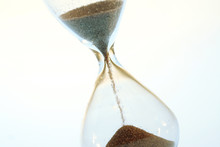 Hourglass Running Out Of Time