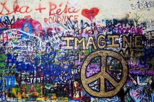 the Lennon wall © Vera Kailova