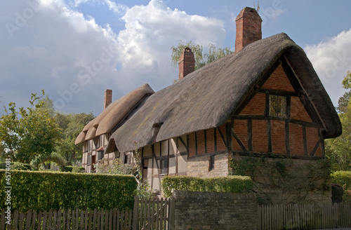 View of Anne Hathaway's cottage (wife of William Shakespeare) Poster