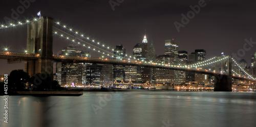 Wall Murals Brooklyn Bridge Brooklyn Bridge At Night