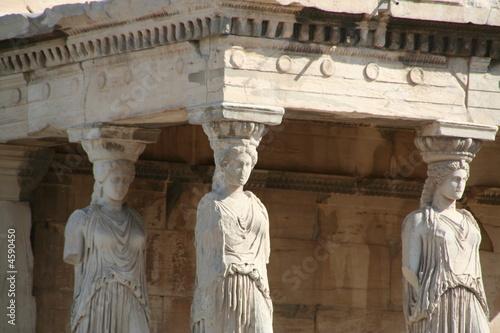 Foto auf AluDibond Athen Acropoli