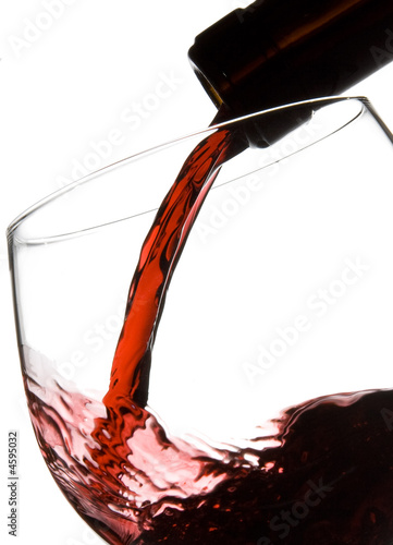 Fotografie, Obraz  Filling wine glass