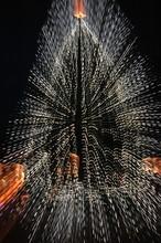 Gezoomter Weihnachtsbaum