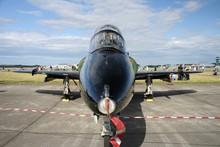 Nose View Of BAE Hawk Jet Plane