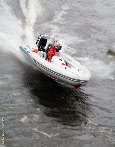 Canvas Prints Water Motor sports Motorboat