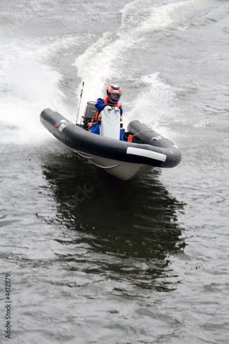 Poster Nautique motorise Motorboat
