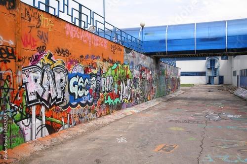 Poster Graffiti graffity wall