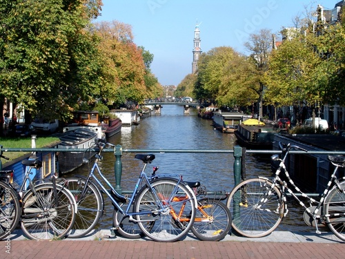 Plakat Amsterdam Canal & Bicycles