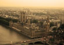 Top View Big Ben