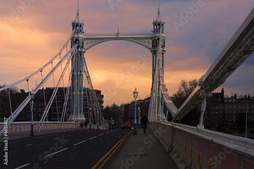 albert bridge Canvas Print