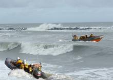 Rough Sea Lifeboat