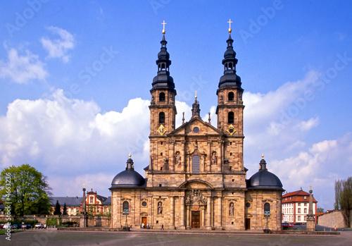 Leinwand Poster Der Dom in Fulda
