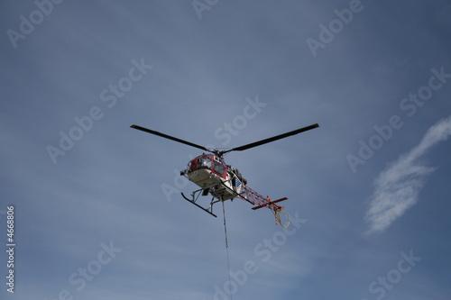 Staande foto Hubschrauber