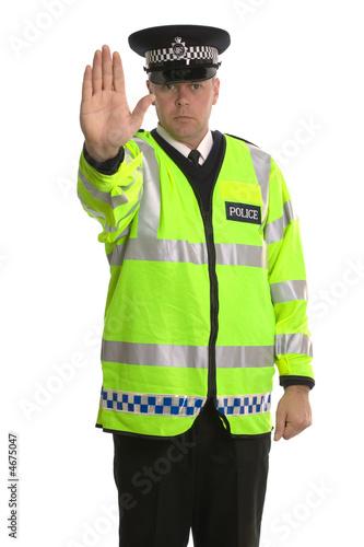 Fotografía  Police traffic stop