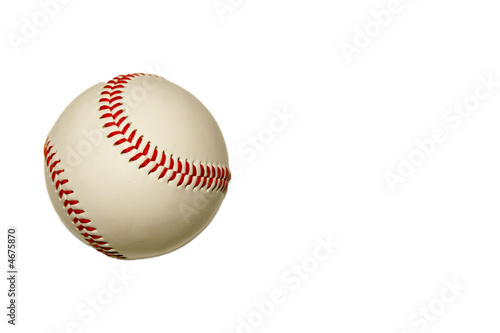 Photo  Baseball Isolated