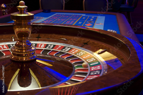 Fotografie, Obraz  casino roulette 5