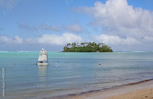 Fotografie, Obraz  Tropical sailing