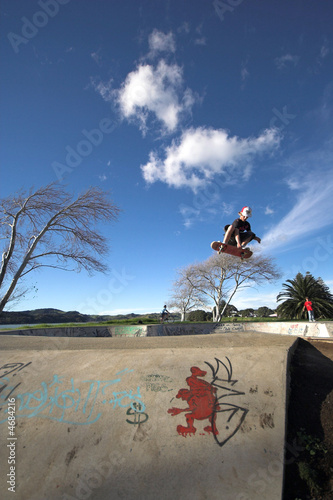 Skate air Canvas Print