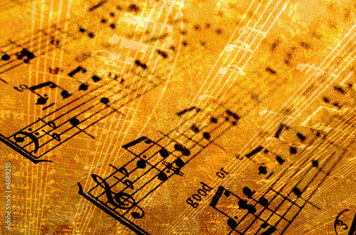 Fotomural music