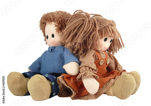 Fotografia A Couple doll