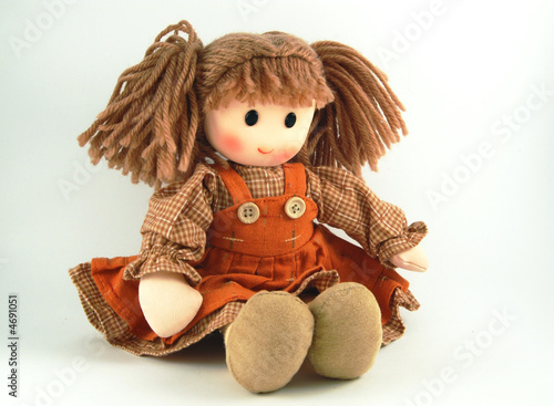 Photographie Fabric doll