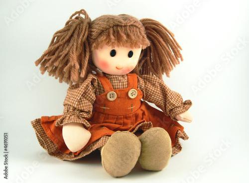 Obraz na płótnie Fabric doll