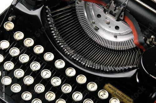 Papiers peints Retro Old typewriter