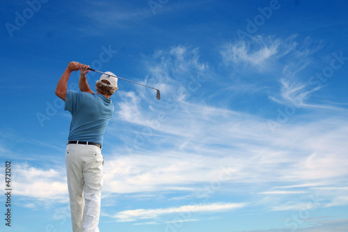 Fotografia, Obraz  Golf Swing 13