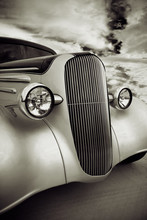 Front Grill Of Street Rod
