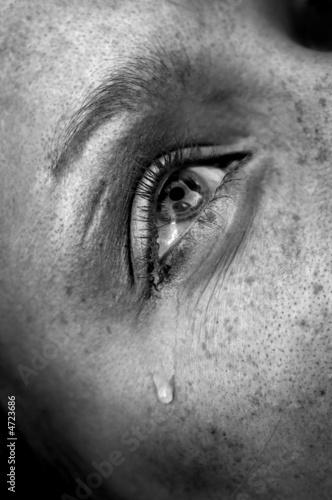 Fotografía  crying eye