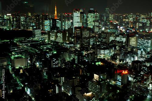Fotografie, Tablou  Tokyo by Night