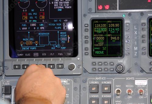 Flight Navigation Canvas Print