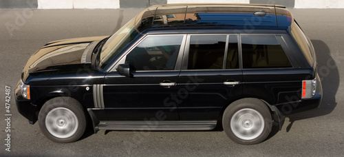 Fotografía luxury isolated SUV car  from my luxury cars series