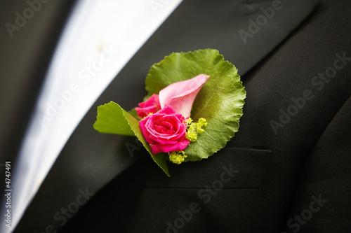 Tableau sur Toile Wedding corsage