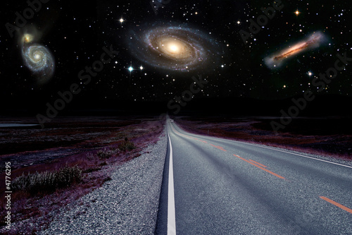 Türaufkleber UFO Weg zu neuen Welten