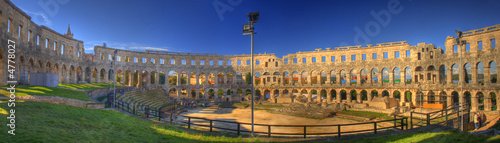 Pula Amphitheater Wallpaper Mural
