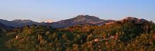 Panorama Montagne Di Sera