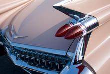 Classic American 1950's Pink Car