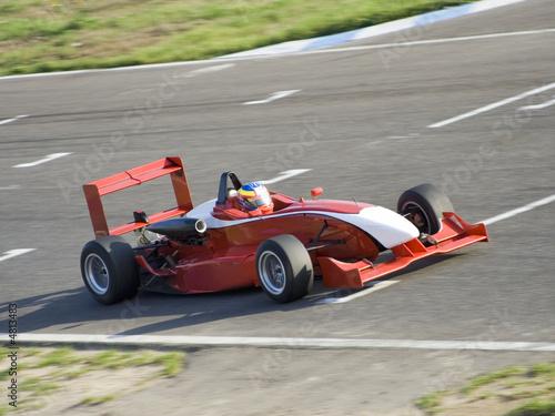 Photo Stands Motor sports Formula car